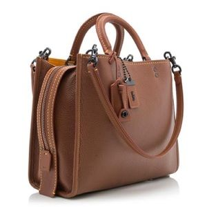 Coach Rogue Leather Bag